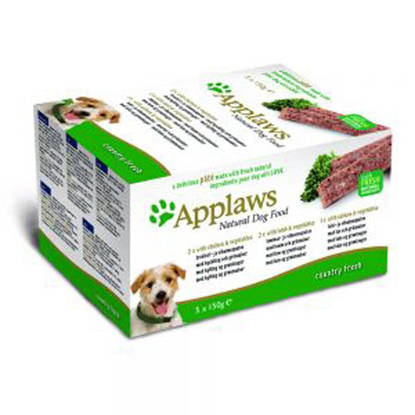 Picture of Applaws Dog Pate Multi Pack Chicken and Lamb 5 x 150g