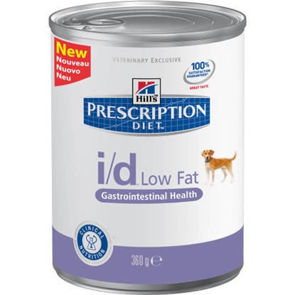 Picture of Hills Canine I/D low fat Tins 12 x 360g