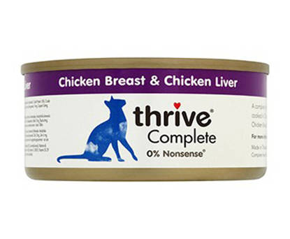 Picture of THRIVE CAT TIN CHICK/LIVER