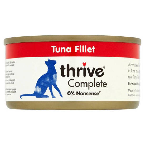 Picture of THRIVE CAT TIN TUNA 75G