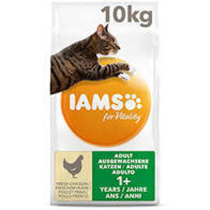 Picture of Iams Vitality Cat Adult Chicken 10kg