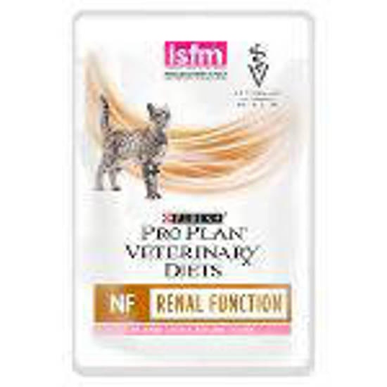 Picture of Purina PVD NF Feline CIG Wet Pouches Salmon 10 x 85g